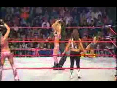 Angelina Love (c) vs Velvet Sky vs Tara vs Madison Rayne Special Referee Mickie James