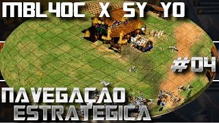 Age of Empires 2 Legacy of The Huns 2 MBL4OC x Sy Yo Game 04 AoE2HD Gameplay PT BR