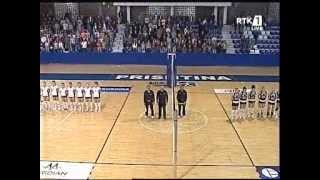 Volejboll-Finalja e Kupes 2014 KV Drita & KV Kastrioti 3:0