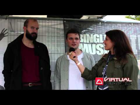 White Lies interview at Bingley Music Live 2012