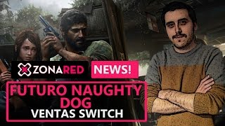 NAUGHTY DOG presidente a la fuga | NINTENDO SWITCH ventas récord - ZR NEWS