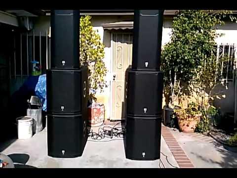 Dj Jason Llamas Sound Check Jbl Prx 600 Youtube
