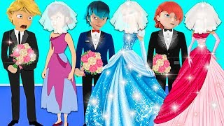 Marinette and Friends Result Fashion Design - Tales of Princess Ladybug
