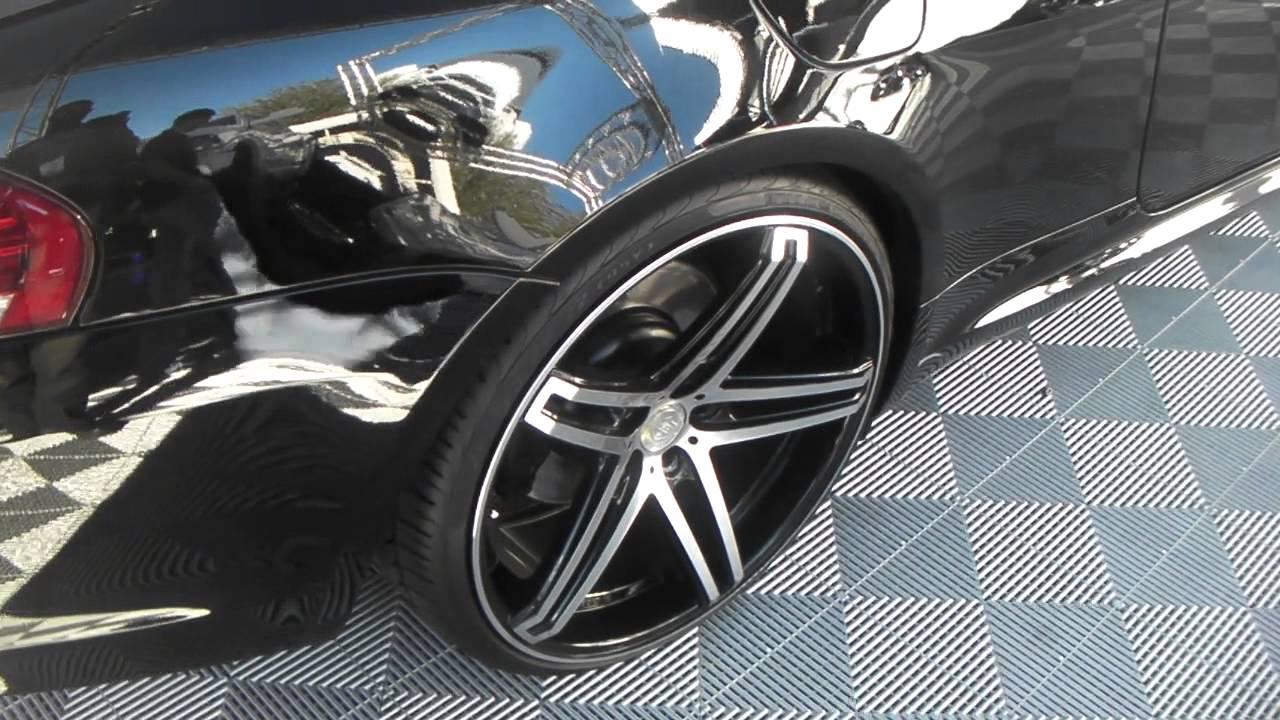 Bmw Rims 22 Inch >> DUBSandTIRES.com 2010 BMW 650 Review 22'' TIS Concave Black and Machined Wheels Asanti Forgiato ...