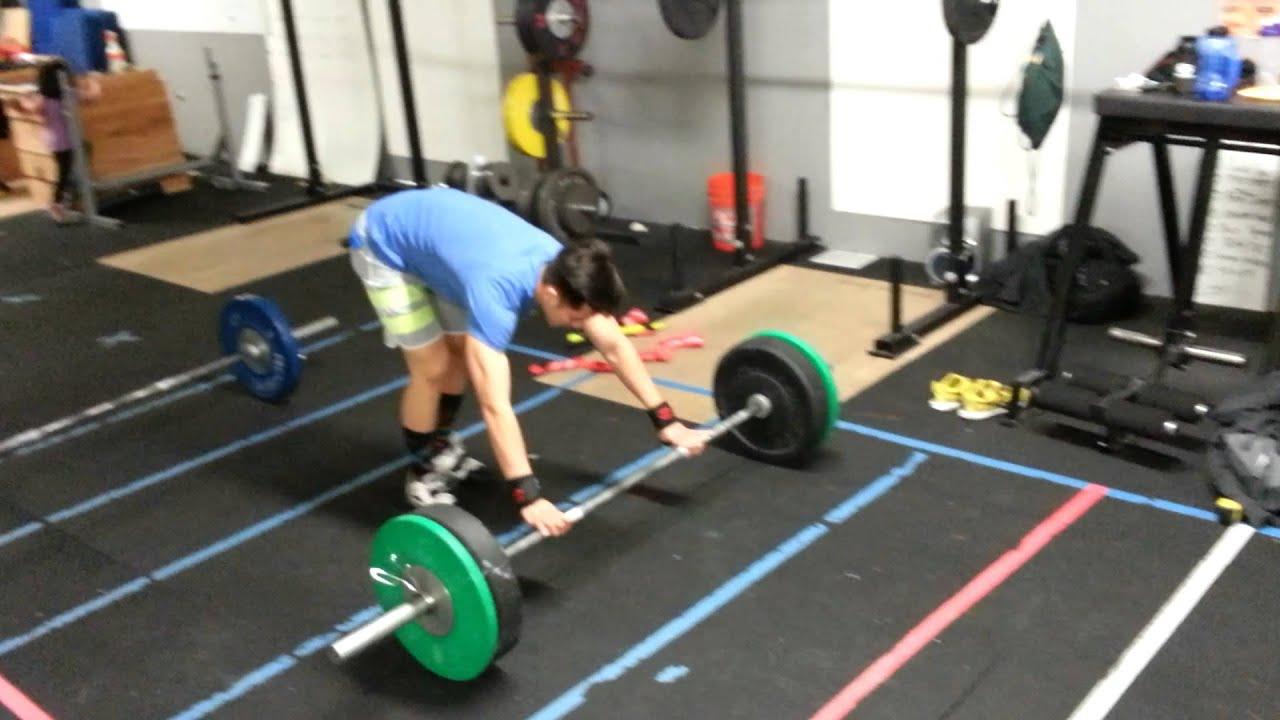 Squat Clean Workout 185 Squat Clean Workout