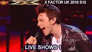 "Brendan Murray ""Break Free"" He SMASHED IT The Boys | Live Shows 1 X Factor UK 2018"