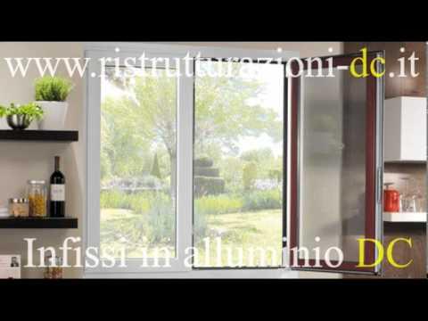 Foto infissi in alluminio VISITA IL SITO www.ristrutturazioni-dc.it
