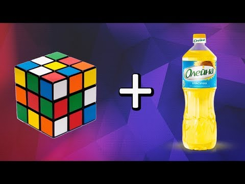 Как угробить кубик Рубика за 5 секунд