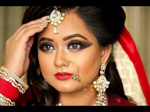❤Asian Bridal ❤ Makeup Tutorial ❤ By Sinthia Rahman
