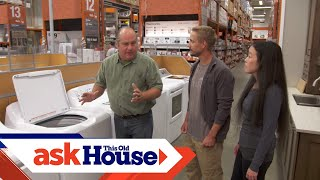 How to Choose and Install Laundry Appliances