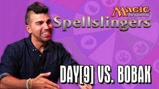 Day[9] vs. Bobak Ferdowsi in Magic: The Gathering: Spellslingers Ep 2