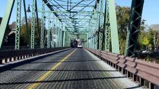 New Hope - Lambertville Bridge westbound