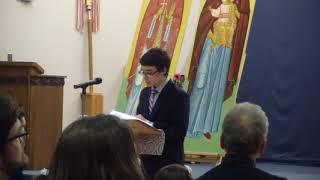Dino's Speech 2018 Feb 1ST VIDEO