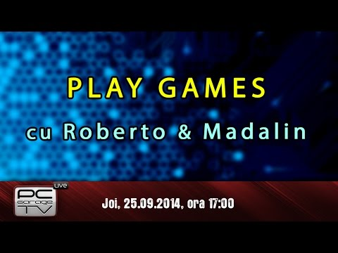 LIVE - Play games - cu Roberto si Madalin