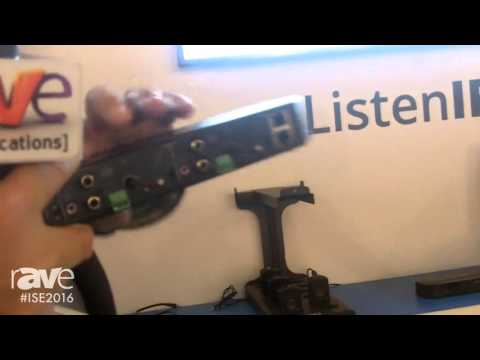 ISE 2016: Listen Technologies Introduces the New ListenIR Infrared System for Audio