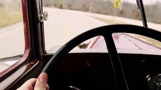 Driving my 1929 Model A Ford