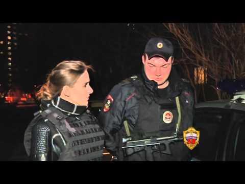 Дежурство вместе с экипажем вневедомственной охраны в районе Бирюлево Восточное г. Москвы