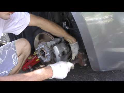 How to replace 2009 Chrysler Sebring front brake pads