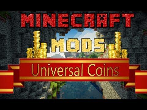 Minecraft Mods - Universal Coins - ¡Monedas, joder! - 1.6.2 - Español Review
