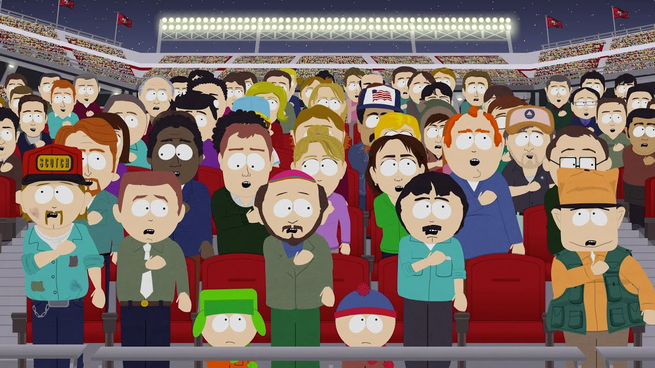 [South Park's National Anthem Remix Is Legitimately Hilarious] Video