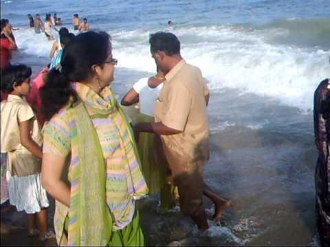 Marina Beach Girl at Marina Beach Chennai