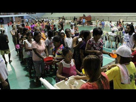 На Филиппины надвигается тайфун