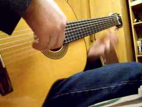 Russian Roma Gypsy 7 string Guitar 'Пройдись, девушка' (Old Video)