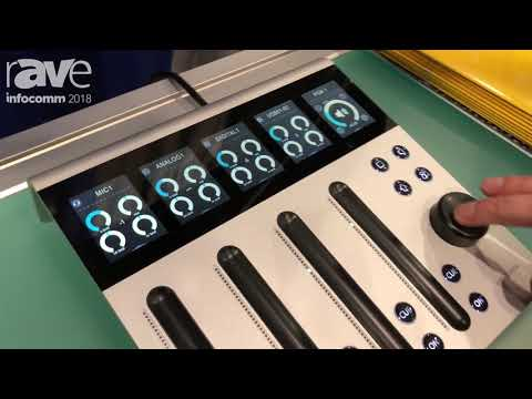 InfoComm 2018: Yellowtec Presents Intellimix 2 Digital Consule with Eight Faders and Touch Controls
