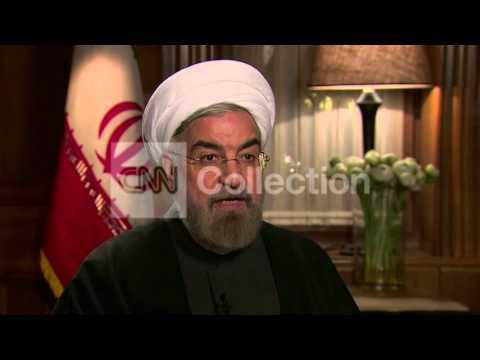 CNN INTERVIEWS IRAN PRES ROUHANI: ENRICHMENT