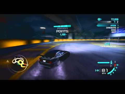 DFIMessyYeti On Need For Speed Carbon Bmw M3 GTR Drifting Gameplay