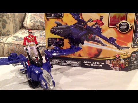 Gosei Jet Review [Power Rangers Megaforce]