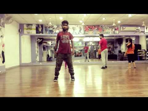 Tried some dharmesh sir moves from