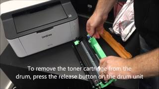 Installing Brother Toners