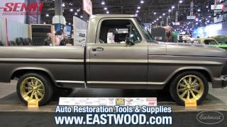 Perfect 1970 Ford F100 Pickup Truck with Eastwood Metal Blackening - SEMA - Eastwood