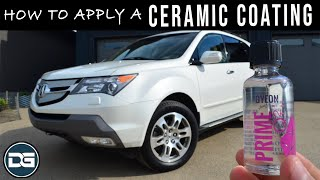 How To Apply A Ceramic Coating | Clear Bra Removal!