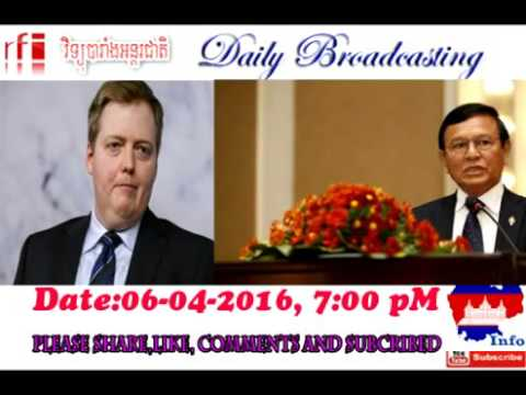 Radio France International RFI in Khmer today, summary the main news today 2016 04 06 at 7