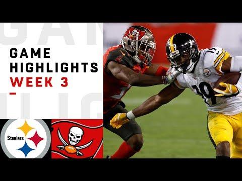 Steelers vs. Buccaneers Week 3 Highlights | NFL 2018