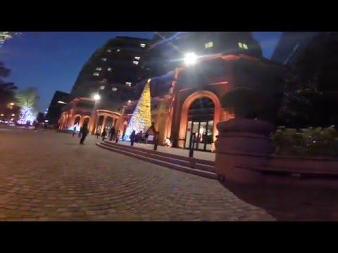 GoPro HERO 4 Session 輕巧版:單車行車記錄器夜間範例