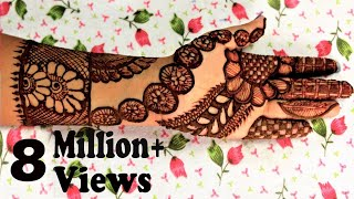 Latest Henna Mehndi Designs 2017 by Jyoti Sachdeva .