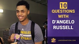 10 Random Questions With Lakers Rookie D
