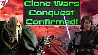 Clone Wars, Conquest and More Confirmed At EA Play! Star Wars Battlefront 2 Update