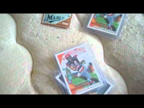 rookie baseball cards/football cards/cam newton/tim tebow