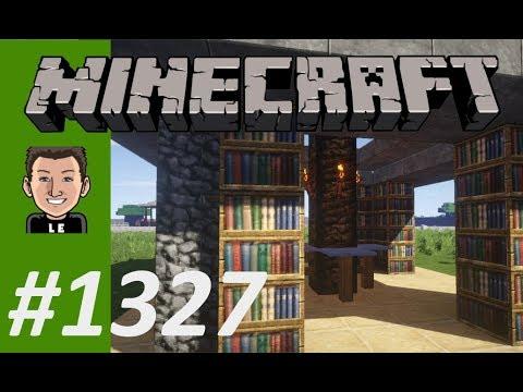 Let's Play Minecraft #1327 - Ich kann einfach nicht ohne Bücher
