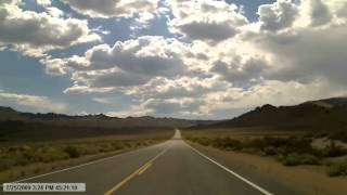 Video 176     to June Lake Dips in road