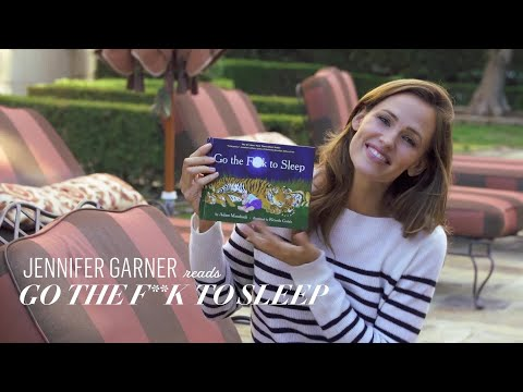 Jennifer Garner Reads Go the F**k to Sleep