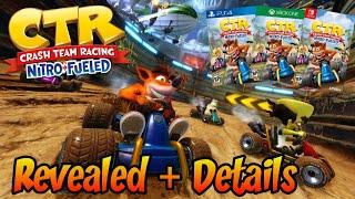 Crash Team Racing Nitro-Fueled Trailer Revealed + Details!! (Normal and Nitros Oxide Edition)