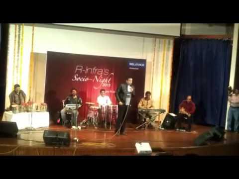 Prashant Rao in a corporate show