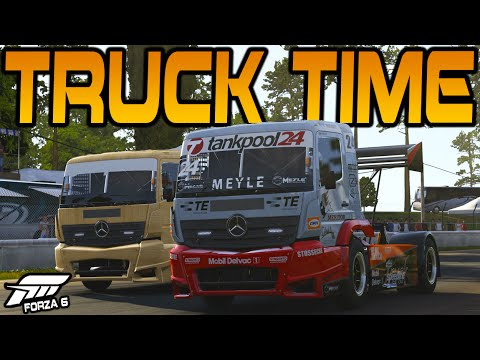 Forza 6 TIME FOR SOME TRUCKING!