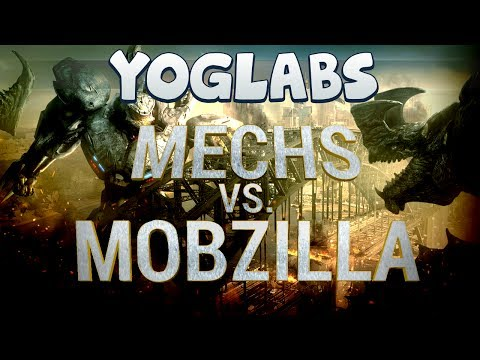 Minecraft Mods Mechs vs Mobzilla YogLabs