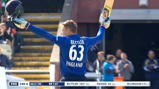 England score 408-9! Record 210-run win over New Zealand - highlights